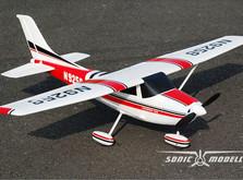 Модель cамолета Sonic Modell Cessna 182 500 Class V2 1400 мм PNP-фото 6