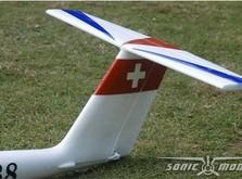 Пилотажный планер Sonic Modell Pilatus B4-фото 4
