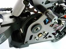 Радиоуправляемый мотоцикл Himoto Burstout MX400-фото 5