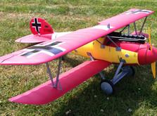 Радиоуправляемый самолет Dynam Albatros D.V L.24 RTF 1270 мм-фото 3