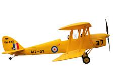 Самолет Dynam De Havilland Tiger Moth RTF 1270 мм-фото 3