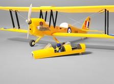 Самолет Dynam De Havilland Tiger Moth RTF 1270 мм-фото 10