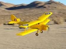 Самолет Dynam De Havilland Tiger Moth RTF 1270 мм-фото 7