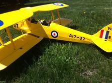 Самолет Dynam De Havilland Tiger Moth RTF 1270 мм-фото 9