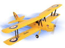 Самолет Dynam De Havilland Tiger Moth RTF 1270 мм-фото 5