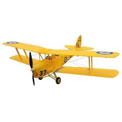 Самолет Dynam De Havilland Tiger Moth RTF 1270 мм