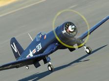 Самолёт Dynam F4U Corsair RLG RTF 1270 мм-фото 2