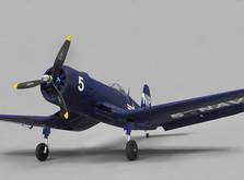 Самолёт Dynam F4U Corsair RLG RTF 1270 мм-фото 8