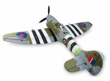 Самолёт Dynam Hawker Tempest RTF 1250 мм-фото 1