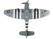 Самолёт Dynam Hawker Tempest RTF 1250 мм-фото 2