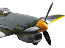 Самолёт Dynam Hawker Tempest RTF 1250 мм-фото 5