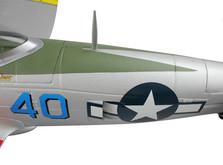 Самолёт Dynam P47D Thunderbolt RTF 1220 мм-фото 7
