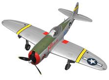 Самолёт Dynam P47D Thunderbolt RTF 1220 мм-фото 10