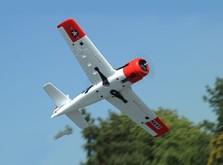 Радиоуправляемый самолёт T-28 Trojan RTF 1270 мм-фото 1