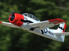 Радиоуправляемый самолёт T-28 Trojan RTF 1270 мм-фото 4
