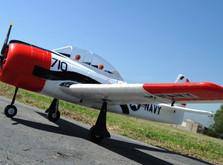 Радиоуправляемый самолёт T-28 Trojan RTF 1270 мм-фото 5