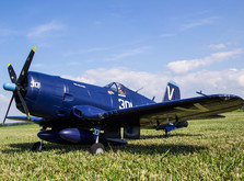 Самолёт FMS Chance Vought F4U Corsair PNP 1400 мм-фото 9