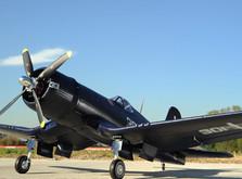 Самолёт FMS Chance Vought F4U Corsair PNP 1400 мм-фото 10