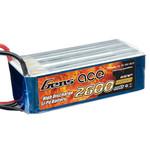 Аккумулятор Gens Ace Li-PO 22,2 В 2600 мАч 25C