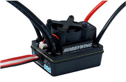Бесколлекторный регулятор хода HOBBYWING EZRUN WP 80A SL для автомоделей