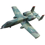 Самолет Dynam A10 Thunderbolt Brushless RTF 1080 мм 2,4 ГГц