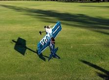 Акробатический самолёт Precision Aerobatics Addiction 1000 мм KIT-фото 1