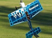 Акробатический самолёт Precision Aerobatics Addiction 1000 мм KIT-фото 2