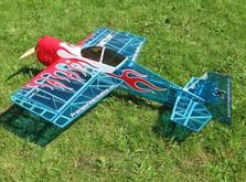 Радиоуправляемый самолёт Precision Aerobatics Addiction X 1270 мм KIT-фото 4