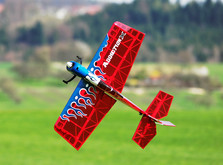 Радиоуправляемый самолёт Precision Aerobatics Addiction X 1270 мм KIT-фото 3