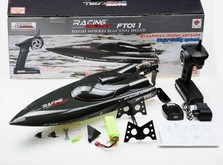 Радиоуправляемый катер Fei Lun FT011 Racing Boat 65см 2.4GHz с бесколлекторным электродвигателем.-фото 5