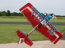 Радиоуправляемый самолёт Precision Aerobatics Addiction XL 1500мм KIT-фото 2