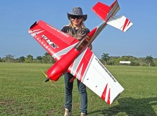 Самолёт на радиоуправлении Precision Aerobatics XR-61 1550 мм-фото 4