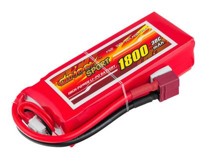 Аккумулятор Dinogy Li-Pol 1800mAh 11.1V
