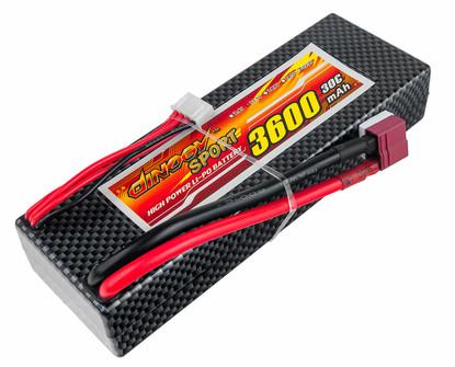 Аккумулятор Dinogy Li-Pol 3600mAh 11.1V