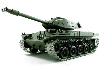 Радиоуправляемый танк 1:16 Heng Long Bulldog M41A3 с пневмопушкой