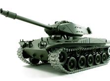 Радиоуправляемый танк 1:16 Heng Long Bulldog M41A3 с пневмопушкой-фото 4