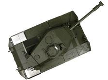 Радиоуправляемый танк 1:16 Heng Long Bulldog M41A3 с пневмопушкой-фото 5