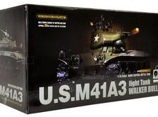 Радиоуправляемый танк 1:16 Heng Long Bulldog M41A3 с пневмопушкой-фото 6