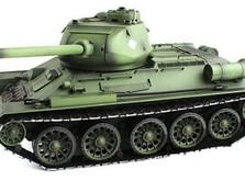 Радиоуправляемый танк 2.4GHz 1:16 Heng Long T-34 с пневмопушкой и дымом-фото 2