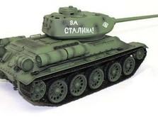 Радиоуправляемый танк 2.4GHz 1:16 Heng Long T-34 с пневмопушкой и дымом-фото 3