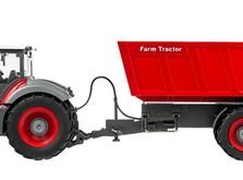 Трактор на радиоуправлении 1:28 Farm Tractor с прицепом-фото 2