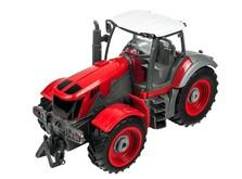 Трактор на радиоуправлении 1:28 Farm Tractor с прицепом-фото 3