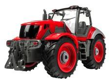 Трактор на радиоуправлении 1:28 Farm Tractor с прицепом-фото 4