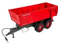 Трактор на радиоуправлении 1:28 Farm Tractor с прицепом-фото 6