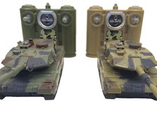 Танковый бой HuanQi 552 Leopard 2 масштаб 1:48-фото 2