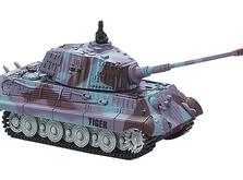 Радиоуправляемый танк-микро King Tiger со звуком в масштабе 1:72-фото 2