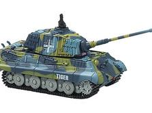 Радиоуправляемый танк-микро King Tiger со звуком в масштабе 1:72-фото 1