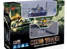 Радиоуправляемый танк-микро King Tiger со звуком в масштабе 1:72-фото 5