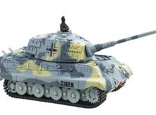 Радиоуправляемый танк-микро King Tiger со звуком в масштабе 1:72-фото 3