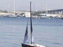 Парусная яхта Pro Boat Ragazza 1M V2 RTR 2300 мм-фото 2